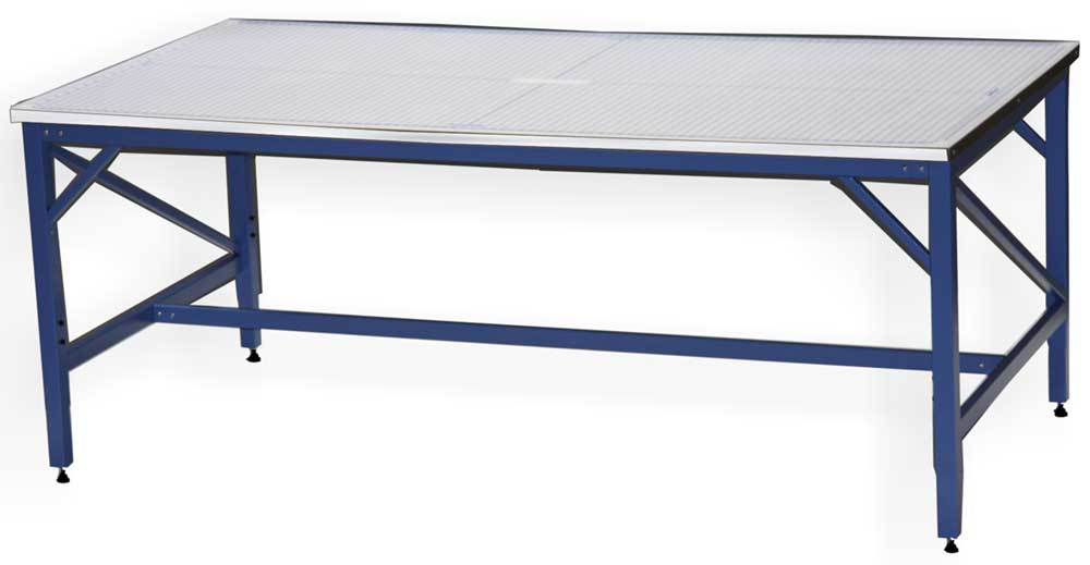 Rhino Tables Quality Media And Laminating Solutions - 4x8 steel table